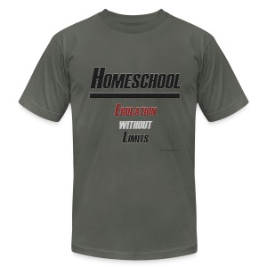 Education Without Limits - Men's T-Shirt by American Apparel
