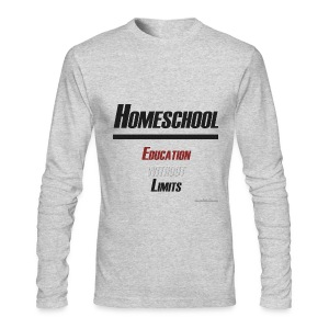 Education Without Limits - Men's Long Sleeve T-Shirt by Next Level