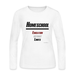 Education Without Limits - Women's Long Sleeve Jersey T-Shirt