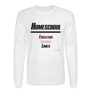 Education Without Limits - Men's Long Sleeve T-Shirt
