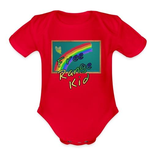 Free Range Kid - Organic Short Sleeve Baby Bodysuit