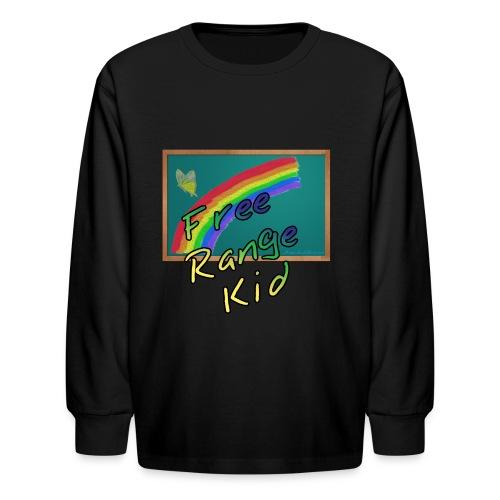 Free Range Kid - Kids' Long Sleeve T-Shirt