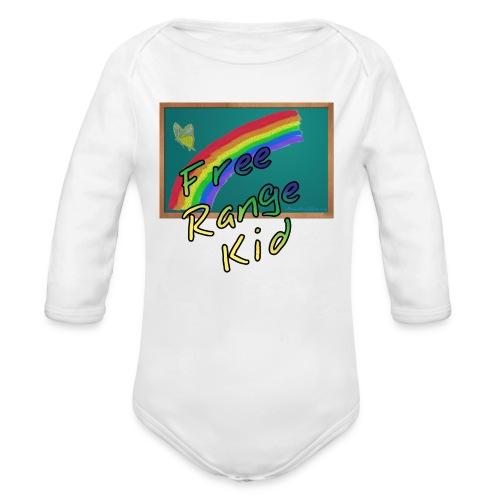 Free Range Kid - Organic Long Sleeve Baby Bodysuit