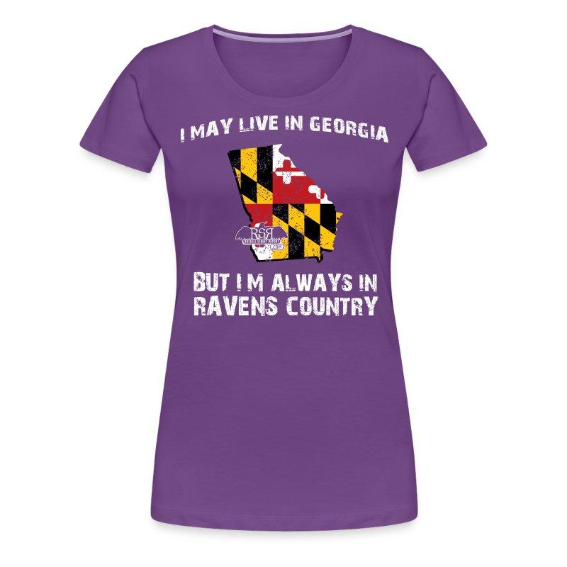 Ravens Georgia Women's - Women's Premium T-Shirt