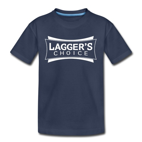 LC Navy Tee White - Toddler Premium T-Shirt