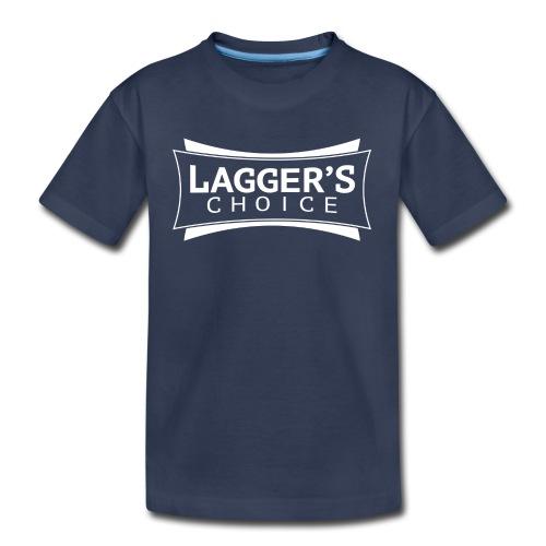 LC Navy Tee White - Toddler Premium T-Shirt