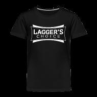 Baby & Toddler Shirts ~ Toddler Premium T-Shirt ~ LC Black Tee White