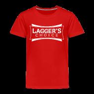 Baby & Toddler Shirts ~ Toddler Premium T-Shirt ~ LC Red Tee White