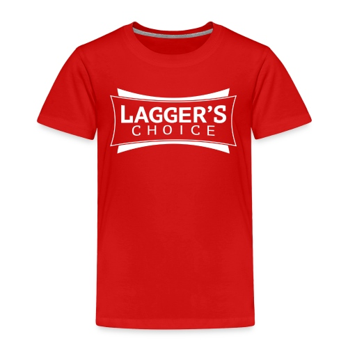 LC Red Tee White - Toddler Premium T-Shirt