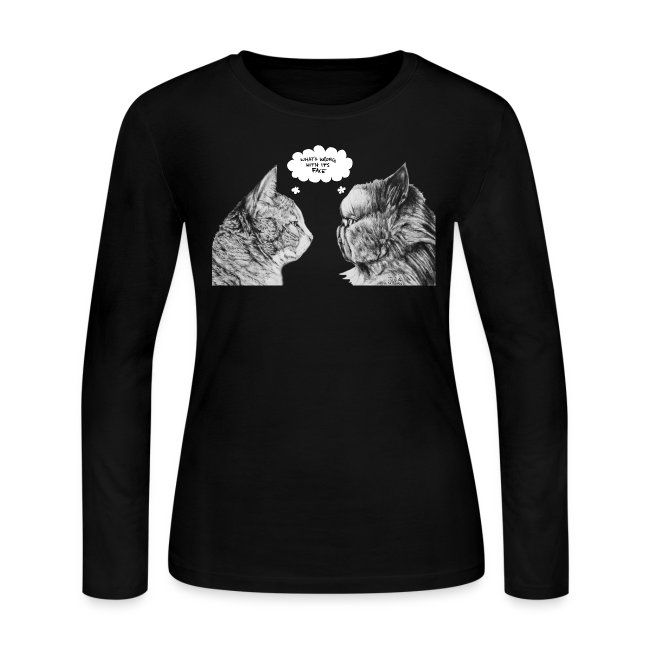 Cat Confusion Long Sleeve Shirt