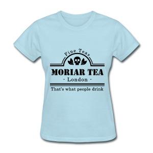 Sherlock Holmes - Moriar Tea - Women's T-Shirt