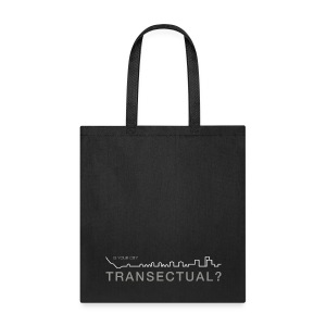 Transectual (WHT) - Tote Bag