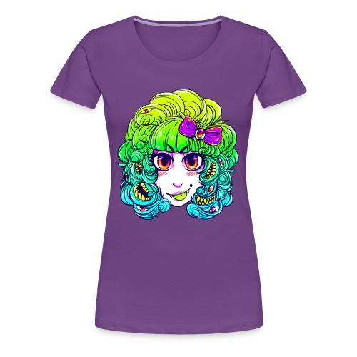 Cutie monster girl shirt - Women's Premium T-Shirt