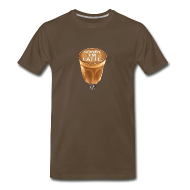 T-Shirts ~ Men's Premium T-Shirt ~ Sorry I'm Latte