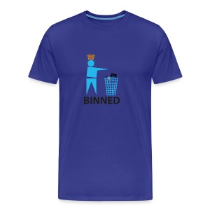 Men's Unit Lost BINNED! - Men's Premium T-Shirt