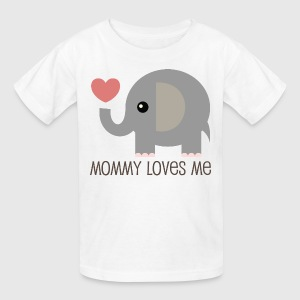 Mommy Loves Me Kids' Shirts - Kids' T-Shirt