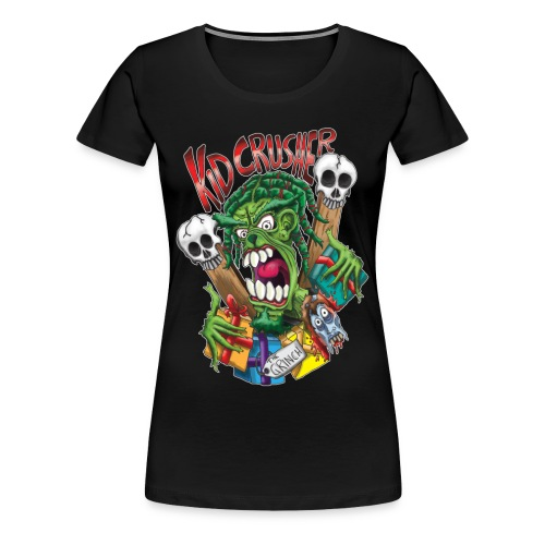 KidCrusher - Grinchmas - Women's Premium T-Shirt