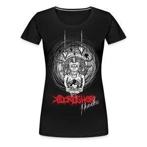 KidCrusher - Heartless Zombie - Women's Premium T-Shirt