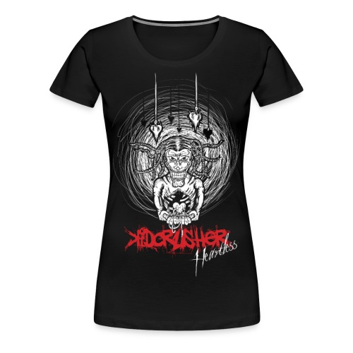 KidCrusher - Heartless Zombie - Women's Premium T-Shirt