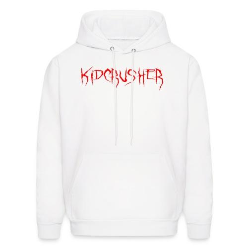 KidCrusher - White Logo - Men's Hoodie