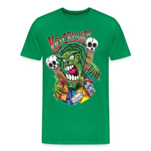 KidCrusher - Green Grinch - Men's Premium T-Shirt