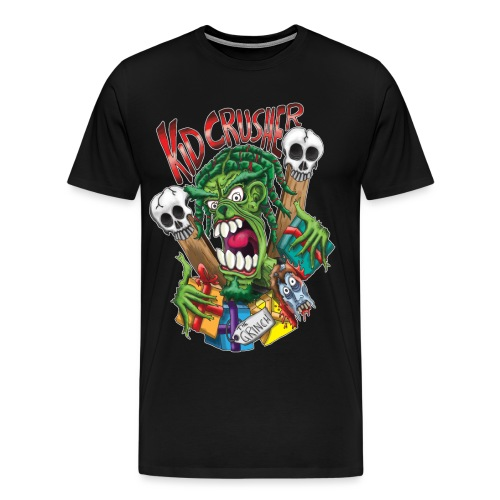 KidCrusher - Grinchmas - Men's Premium T-Shirt