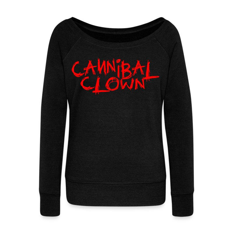 KidCrusher - Cannibal Clown - Women's Wideneck Sweatshirt