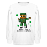 Kids' Shirts ~ Kids' Long Sleeve T-Shirt ~ Choo Choo's Gaming Kids Long Sleeved Shirt