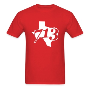 713 Area Code Tee - Men's T-Shirt