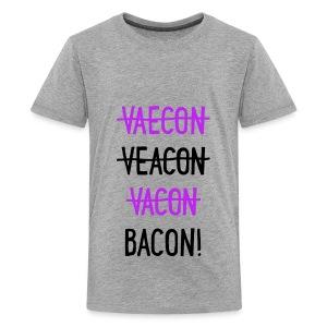 Vaecon Likes Bacon - Kids' Premium T-Shirt