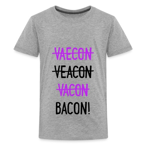 Vaecon Likes Bacon - Kids' Premium T-Shirt