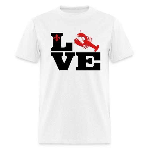 I Love Crawfish - Red - Men's T-Shirt