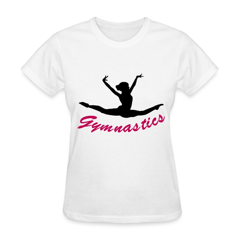 Gymnast gymnastics t shirt spreadshirt Gymnastics t shirt designs
