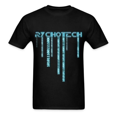 Rychotech Original (Black) - Men's T-Shirt