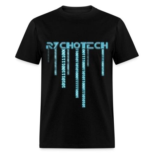 Rychotech Original (Black) - Men's T-Shirt