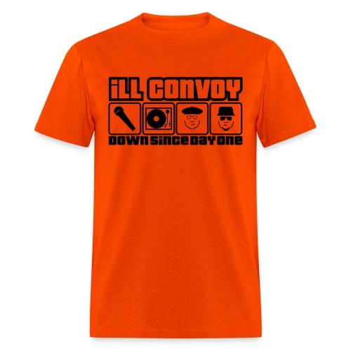 iLL CONVOY - 15th Anniversary Orange T Shirt - Men's T-Shirt