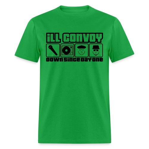 iLL CONVOY - 15th Anniversary Green T Shirt - Men's T-Shirt