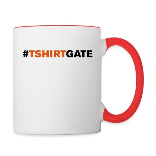 We be muggin' - Contrast Coffee Mug