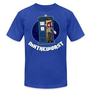 MKtheDoctor (Men's) - Men's T-Shirt by American Apparel