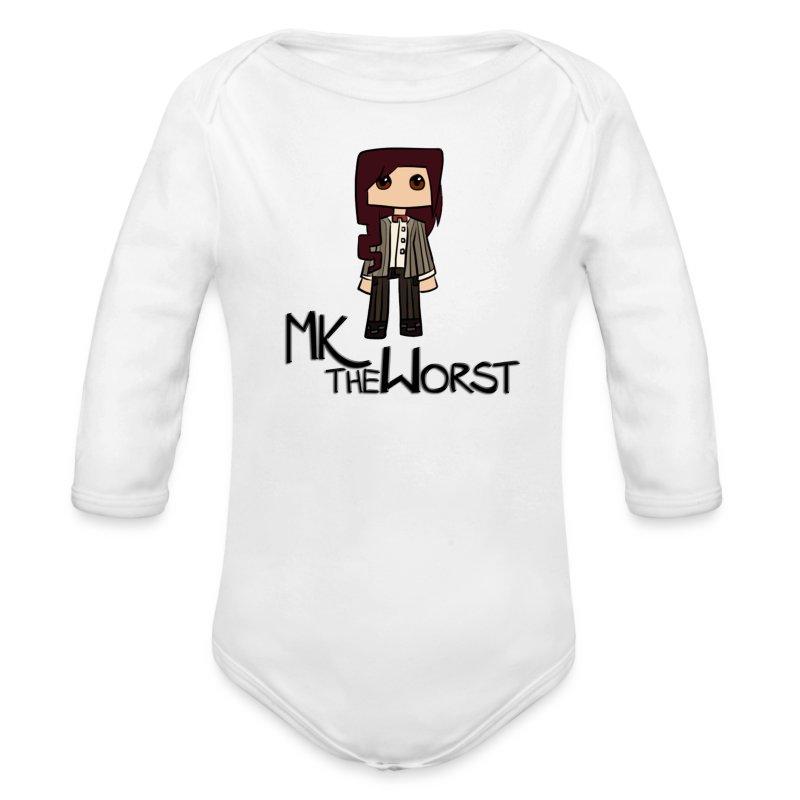 MKtheChibi (Baby) - Long Sleeve Baby Bodysuit