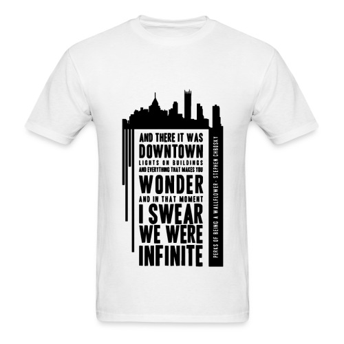 The Perks of being a Wallflower - Infinite - Men's T-Shirt