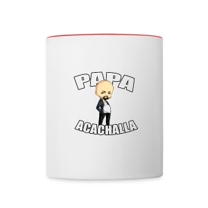 Papa Color Mug - Contrast Coffee Mug