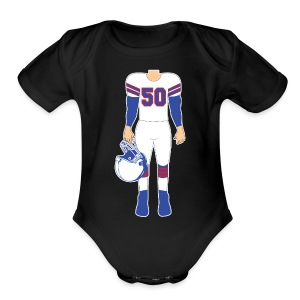 50 baby - Short Sleeve Baby Bodysuit