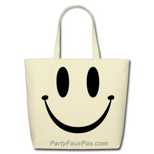 A Happy Bag - Eco-Friendly Cotton Tote