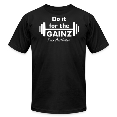For the GAINZ - Men's Fine Jersey T-Shirt