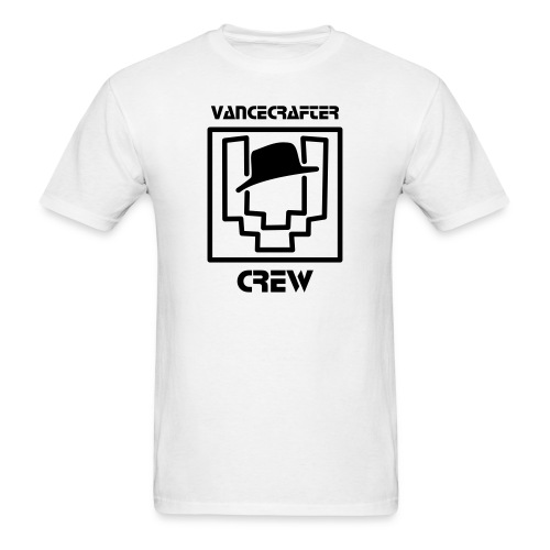 VanceCrafter Crew Men's Logo Tee Black - Men's T-Shirt