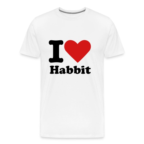 I Heart Habbit - Men's Premium T-Shirt