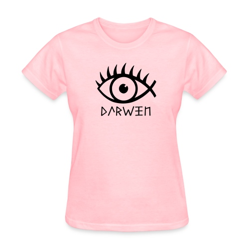 Women's T-Shirt - Darwin Fish Women's Tee