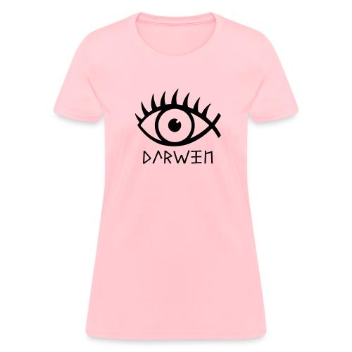Women's T-Shirt - Darwin Fish Women's Tee