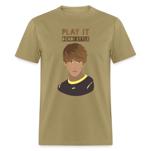 Dendi dota 2 shirt dendi style @ Dota 2 shirts - Men's T-Shirt